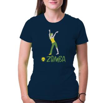 Tričko Zomba - cvičenie pre mŕtvych