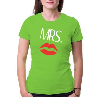 Pre páry Tričko Mrs.