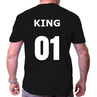 Pre páry Tričko King