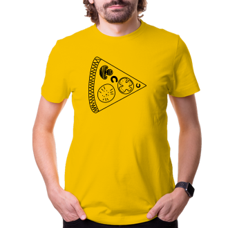 Pre páry Tričko Jeho kúsok pizze