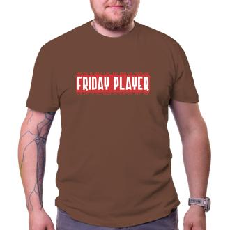 Párty Friday player - červeno-biela