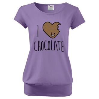 Pre tehotné Tričko I love chocolate