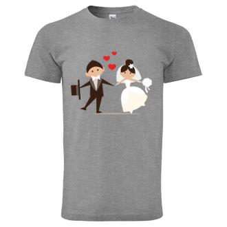 Svadobné Tričko Ženích a nevesta
