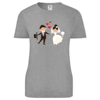 Svadobné Tričko Nevesta a ženích