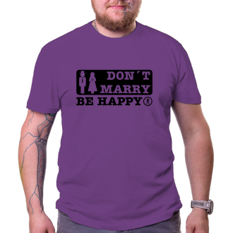 Svadobné Don't marry - be happy