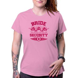 Rozlúčka so slobodou Tričko Bride security