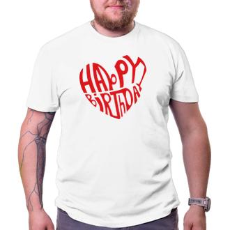 K narodeninám Tričko Happy birthday - boy