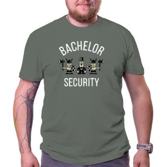 Rozlúčka so slobodou Tričko Bachelor security