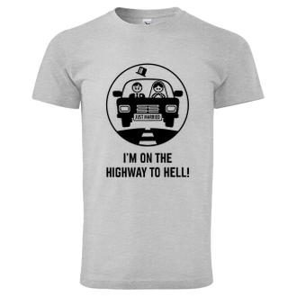 Svadobné Tričko Highway to hell