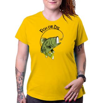 Rybári Tričko Fish or die