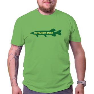 Rybári Tričko Na veľkosti záleží