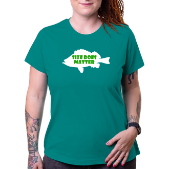 Rybári Tričko Size does matter