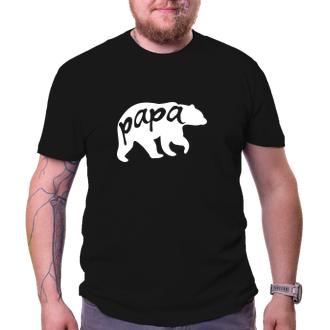 Tričko Papa bear