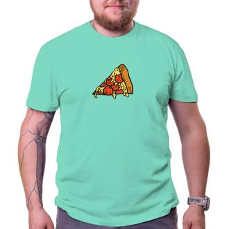 Pizza kúsok pre neho