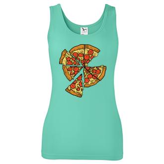 Tričko Pizza kúsok pre ňu