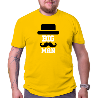 Pre oteckov Tričko Big man