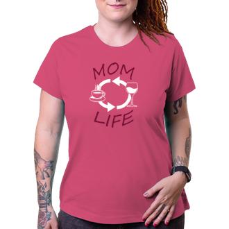 Pre mamičky Tričko Mom's life