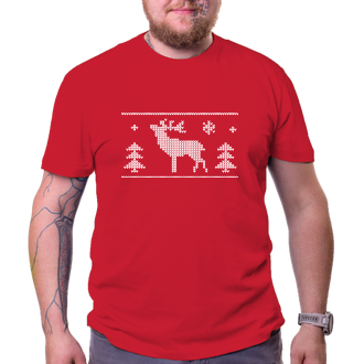 Tričko s jeleňom