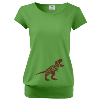 Pre tehotné Tričko Minisaurus