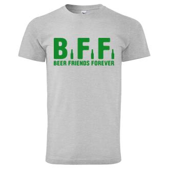 Tričko Beer friends forever