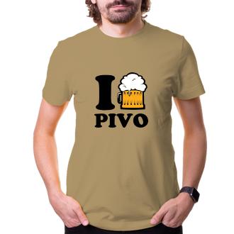 Tričko I love PIVO
