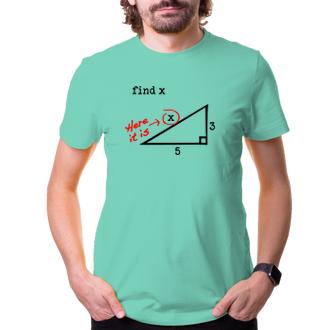 Tričko Find x