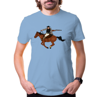 Kone a konaci Tričko Western
