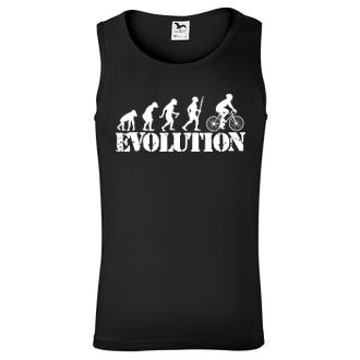 Tričko Evolúcia cyklistov