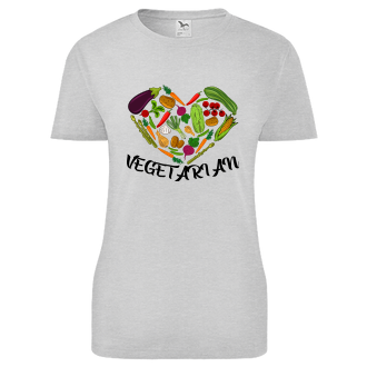 Vegetariáni a vegáni Tričko Vegetarian