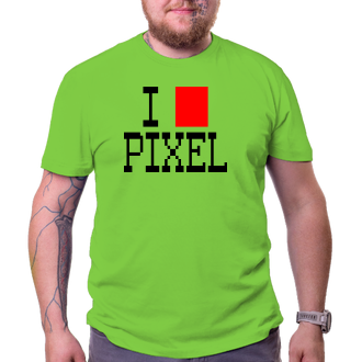 Tričko Pixel lover
