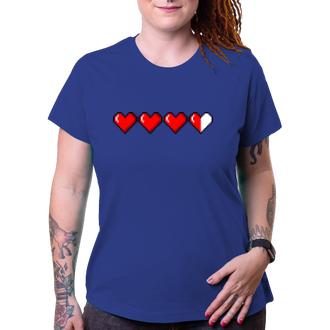 Tričko Hearts pixel