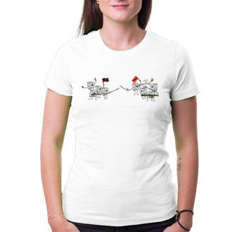 Tričko WSAD vs šipky
