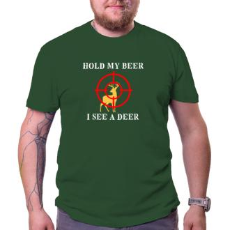 Poľovníci Tričko Hold my beer