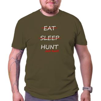 Poľovníci Tričko Just hunt!