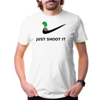 Poľovníci Tričko Just shoot it