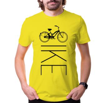 Cyklisti Tričko BIKE