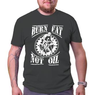 Cyklisti Tričko Burn fat, not oil
