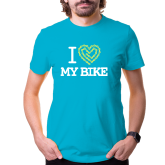 Cyklisti Tričko I love my bike