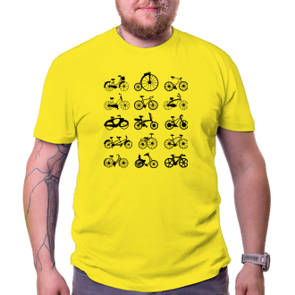 Cyklisti Tričko Kolesa