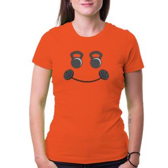 Posilňovňa Tričko Gym smile