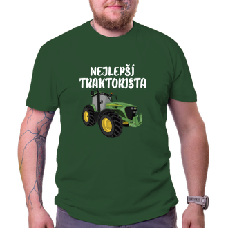 Poľnohospodári Tričko Najlepšie traktorista