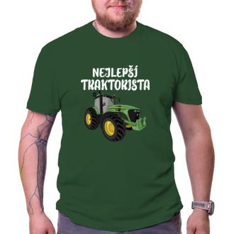 Poľnohospodári Tričko Najlepšie traktorista
