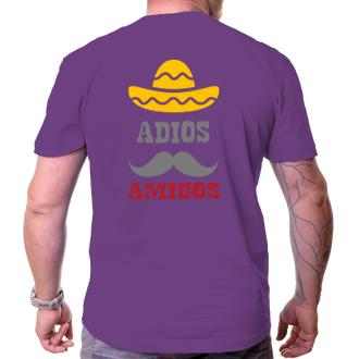 Tričko Adios amigos