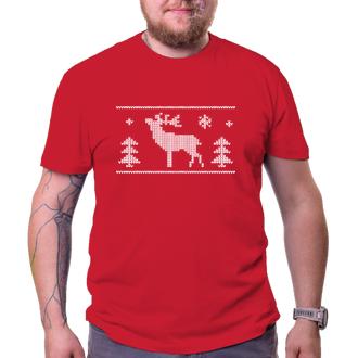 Vianoce Tričko Vianočné jeleň