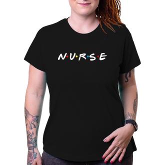 Zdravotné sestry Tričko NURSE