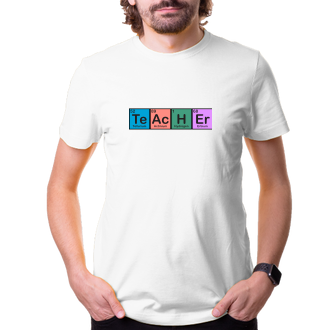Učitelia Tričko Učiteľ Chemik