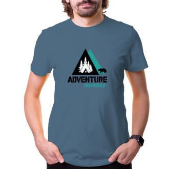 Cestování Tričko Adventure awaits