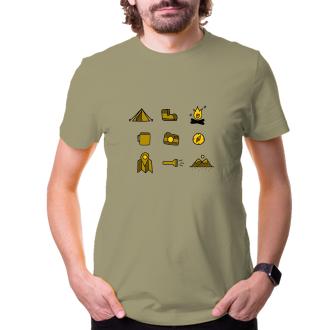 Turistické tričko Piktogram