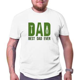 Triko Best dad ever