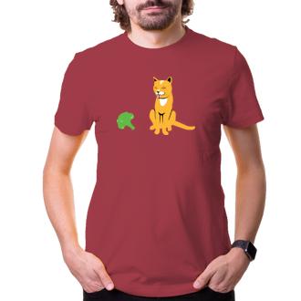 Tričko Mačičky brokolicu príliš rady nemajú